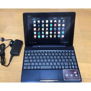 エイスース(ASUS)のASUS Transpad タブレット TF300T ブルー(タブレット)
