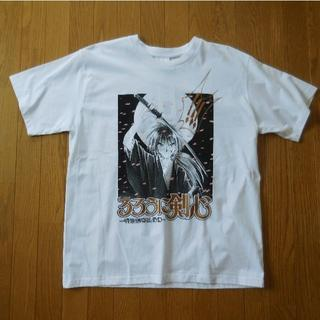 アベイル(Avail)の3Lサイズ るろうに剣心 緋村剣心 Tシャツ(Tシャツ/カットソー(半袖/袖なし))