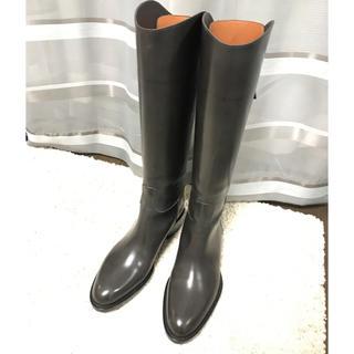 サルトル(SARTORE)の新品サルトル乗馬ブーツ ロングブーツ 23.5cm グレージュ ゴム底貼り済み(ブーツ)