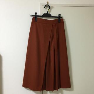 dholic - DHOLIC ウール混プリーツデザインスカート