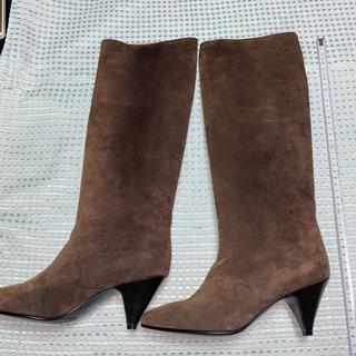 マドラス(madras)のマドラスブーツスエード女性靴(ブーツ)
