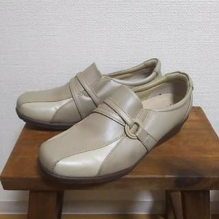 アシックス(asics)のTexcy コンフォート靴 23.5cm(スリッポン/モカシン)