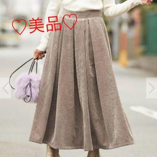 ティティベイト(titivate)の♡titivate コーデュロイフレアスカート♡(ロングスカート)
