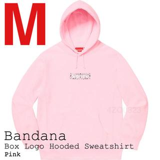 シュプリーム(Supreme)の本日限定価格 Supreme Bandana Box Logo Hooded M(パーカー)