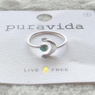 プラヴィダ(Pura Vida)のPura vida リング 指輪 天体 US 8 シルバー ロンハーマン取扱(リング(指輪))