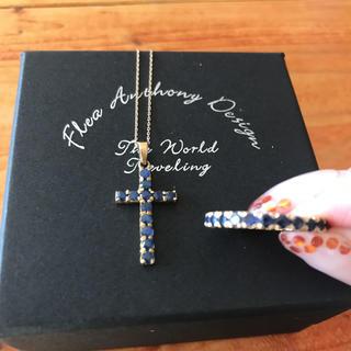 美品 ブルーサファイア  指輪 フルエタニティリング♡ K14 14金 ゴールド(リング(指輪))
