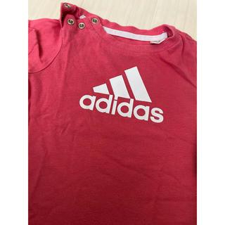 アディダス(adidas)のadidas 女の子 半袖(Tシャツ)