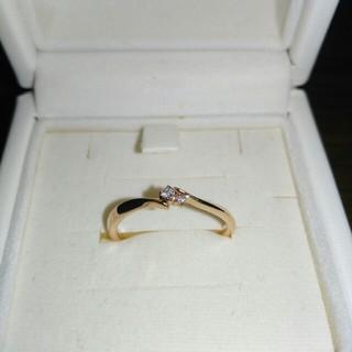 カナルヨンドシー(canal4℃)のcanal4℃ ダイヤモンド K10 リング(10号)(リング(指輪))
