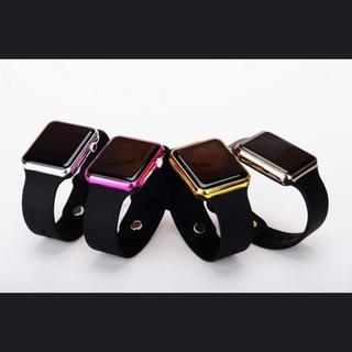 デジタル腕時計♡ お子様にも♪ ライトピンク(腕時計(デジタル))