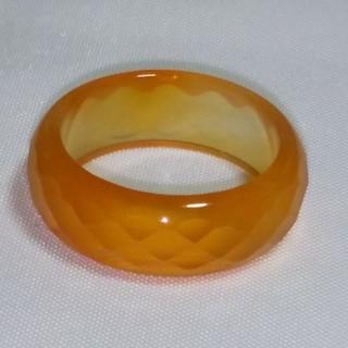 カーネリアン  天然石 リング オレンジ 癒し(リング(指輪))