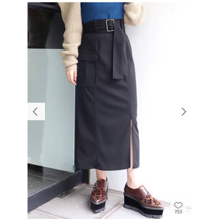 MURUA - MURUA サイドポケットペンシルスカート