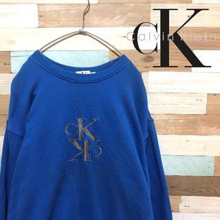 カルバンクライン(Calvin Klein)の【刺繍ロゴ】Calvin Kleinカルバンクレイン スウェット(スウェット)