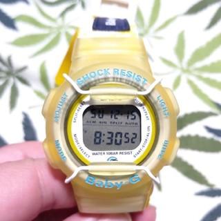 ベビージー(Baby-G)のCASIO Baby-G bg-210 ジーショック イエロースケルトン(腕時計)