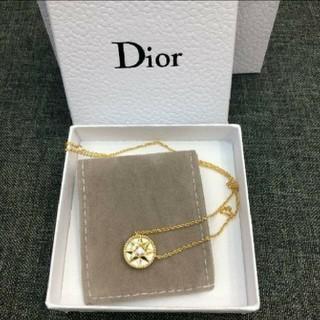 Dior - K18 八芒星羅針盤 ネックレス