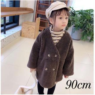 プティマイン(petit main)の新品  韓国子供服 ボアアウター ボアジャケット ボアコート(コート)