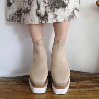 TODAYFUL - 大人気♡フィットソックスブーツ♡♡インスタ 靴下
