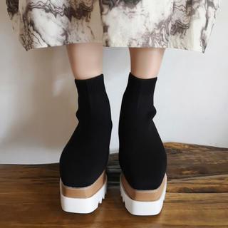 ミラオーウェン(Mila Owen)の大人気♡フィットソックスブーツ♡♡インスタ 靴下(ブーツ)