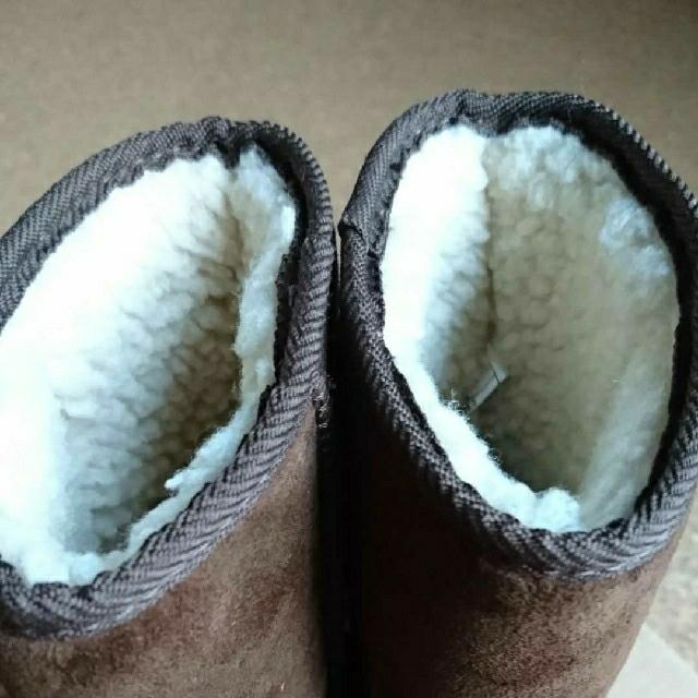 VANS(ヴァンズ)の【美品】VANS☆キッズ☆ムートンブーツ(18㎝) キッズ/ベビー/マタニティのキッズ靴/シューズ(15cm~)(ブーツ)の商品写真