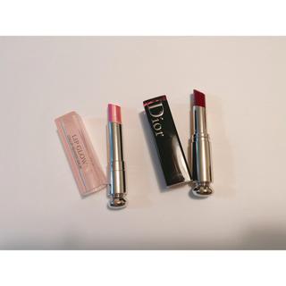Dior - ディオール  アディクトラッカースティック リップグロウ セット 化粧品 口紅