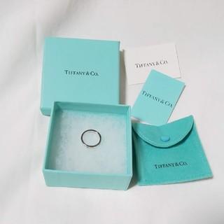 Tiffany & Co. - TIFFANY & Co. ティファニー リング ニュー アトラス ナロー 指輪