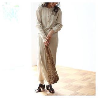 TODAYFUL - [TODAYFUL]Cotton Jacquardwrap Dress