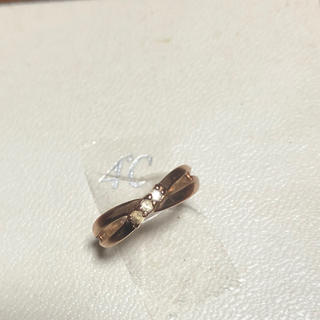 ヨンドシー(4℃)の4°C指輪 ピンクゴールド(リング(指輪))