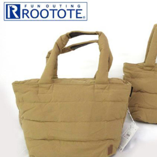 ルートート(ROOTOTE)の新品未使用品☆フェザールーデリ ハンドバック ベージュ(ハンドバッグ)