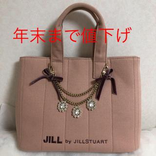 JILL by JILLSTUART - JILL by JILLSTUART  ジュエルリボントートバッグ
