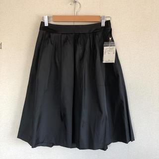 ユナイテッドアローズ(UNITED ARROWS)のユナイテッドアローズ 光沢タックスカート(ひざ丈スカート)