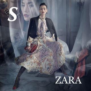 ザラ(ZARA)の新品 入手困難 ZARA S COLLECTION シリーズ ロングワンピース(ロングワンピース/マキシワンピース)