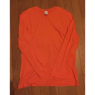 ギルタン(GILDAN)のGILDAN ロンT オレンジ XL 破格! 即購入OK! (Tシャツ/カットソー(七分/長袖))
