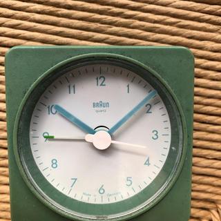 ブラウン(BRAUN)のブラウン時計(置時計)