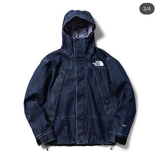 THE NORTH FACE - The North Face DENIM Mountain Jacket Gtx