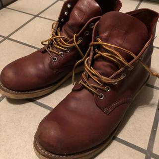 レッドウィング(REDWING)のレッドウィング PLAIN TOE プレーントゥ 9105 RED BROWN(ブーツ)