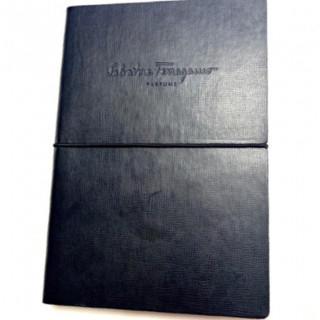 サルヴァトーレフェラガモ(Salvatore Ferragamo)の新品 正規品 フェラガモ ノート 黒革の手帳 メモ帳 黒(その他)