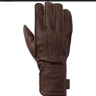 GOLDWIN  バイク グローブ ゴアテックス  ウインター レザー 手袋 M(手袋)