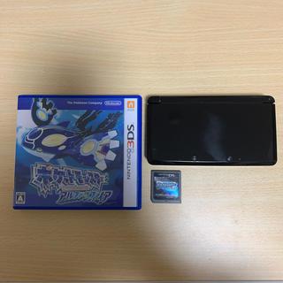 ニンテンドー3DS - 【美品】3DS ブラック ポケモンセット