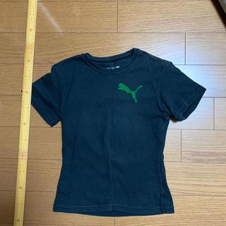 プーマ(PUMA)の黒 Tシャツ プーマ(Tシャツ(半袖/袖なし))