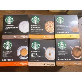 スターバックスコーヒー(Starbucks Coffee)のドルチェグスト スターバックス専用カプセル(コーヒー)