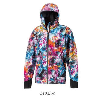 【新品】ワークマン  耐久撥水ウォームジャケット カオスピンク L 男女兼用(ナイロンジャケット)
