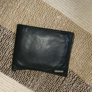 カルバンクライン(Calvin Klein)の二つ折り財布 黒(折り財布)