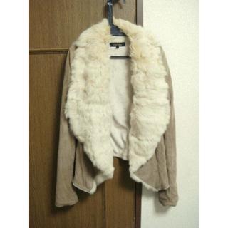 リエンダ(rienda)のrienda ラビットファーゴートジャケット(毛皮/ファーコート)