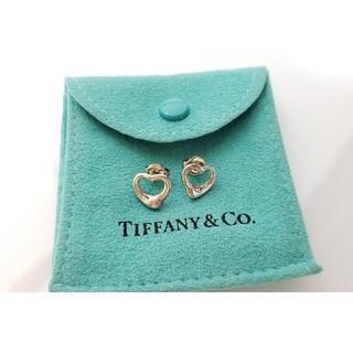 Tiffany & Co. - ティファニー Tiffany オープンハート ピアス レディース