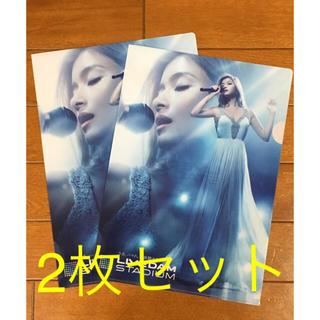 ローラ クリアファイル 非売品 2枚セット(女性タレント)