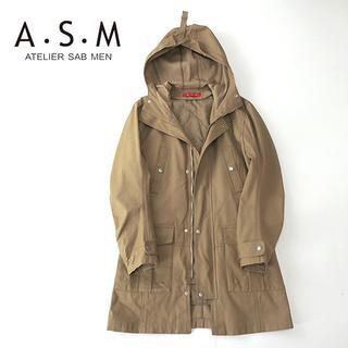 ATELIER SAB - A.S.M アトリエサブメン 中綿ライナー付きモッズコート