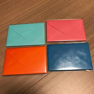ミニメッセージカード用封筒5枚×4色セット(その他)