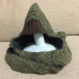 ミナペルホネン(mina perhonen)のミナ ベビーニット帽(帽子)