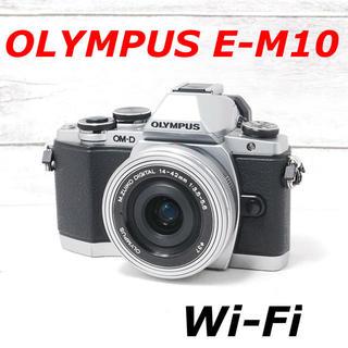 OLYMPUS - ❤️バッテリー2個付き❤️WiFi搭載❤️オリンパス E-M10