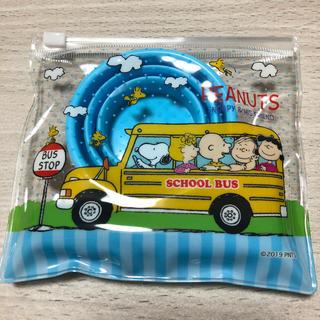 スヌーピー(SNOOPY)の新品 スヌーピー 歯ブラシセット コップ、ポーチ付(歯ブラシ/歯みがき用品)