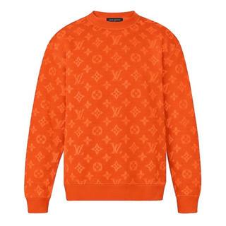 ルイヴィトン(LOUIS VUITTON)のLouis Vuitton フルモノグラム ジャカードクルーネック(ニット/セーター)